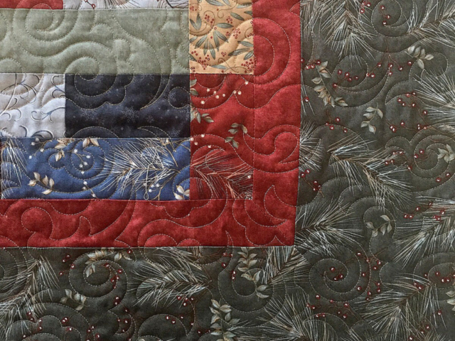 Town Square Quilt-Damask Quilting Pattern