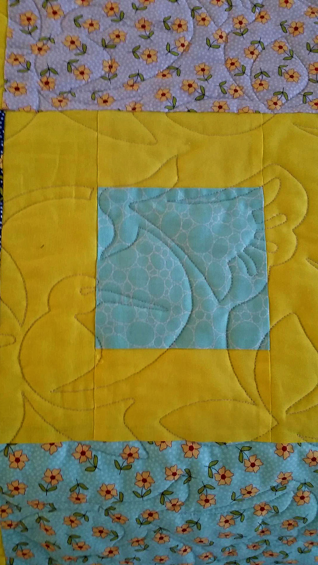 Christal's Hummingbird quilt